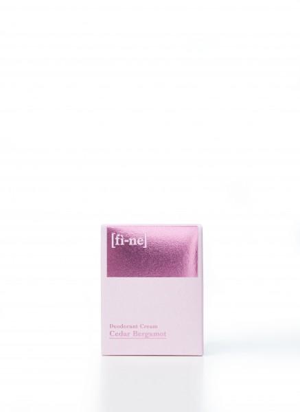 Deodorant Cedar Bergamot 30g Tiegel